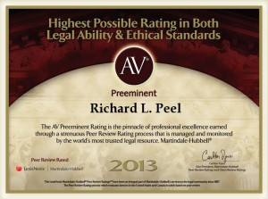 AV Preeminent Richard Peel 2013