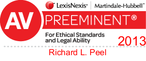 AV Preeminent 2013 - Richard L. Peel