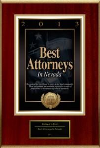 Best Attorneys in Nevada 2013